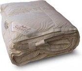 Silently Donzen Dekbed - 90% Ganzendons (Warmteklasse 1) - Eenpersoons - 140x200 cm - Wit