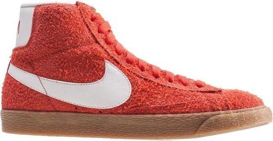 Nike Sneakers Blazer Mid Suede Vintage Max Dames Rood Maat 36,5