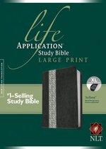 NLT Life Application Study Bible Large Print, Indexed
