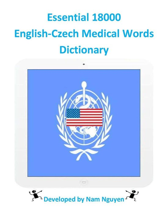 Essential 18000 English-Czech Medical Words Dictionary