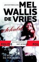Boek cover Politie niet betreden - Schuld van Mel Wallis de Vries (Hardcover)