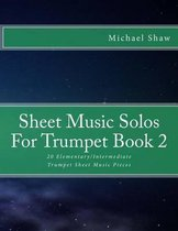 Sheet Music Solos For Trumpet Book 2