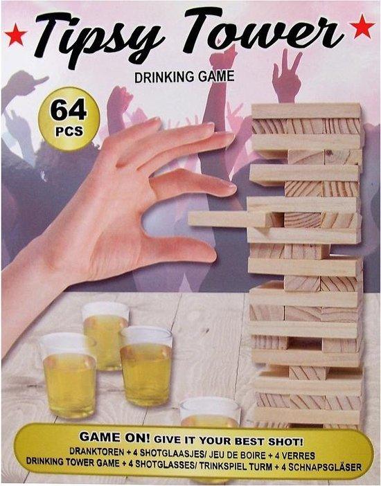 Afbeelding van het spel Drankspel Tipsy Tower