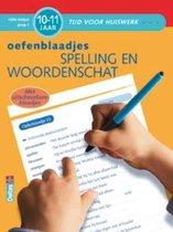Boek cover Tijd voor huiswerk  -   Spelling en woordenschat (10-11 jaar) van Moniek Vermeulen (Paperback)