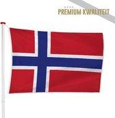 Noorse Vlag Noorwegen 100x150cm