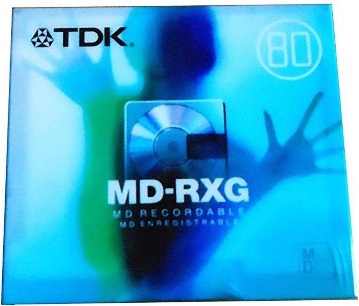 TDK MD-RXG MD recordable 80 minidisc