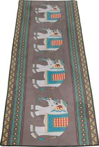 JAP Sports Yoga handdoek - Anti slip sport matje - Bescherming voor de yoga mat - Inclusief opbergtas - Olifant