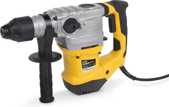 Powerplus POWX1195 Boorhamer - 1500 W - 6 joule - SDS plus - Incl. BMC-koffer, 3 SDS-plus boren en 2 SDS-plus beitels
