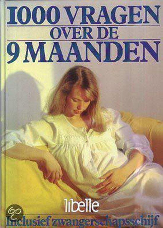 Cover van het boek '1000 vragen over de 9 maanden' van Wiebe Braam en Aart Leemhuis