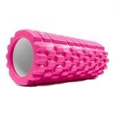 Fascia rol / massage roller »Anasuya« foam roller / pilates rol / therapie roller voor zelfmassage / Meerdere kleuren verkrijgbaar. De foam rol is ideaal voor fasciale (bindweefsel) training van de rug, dijen. Afmetingen: L34cm x D14cm : pink