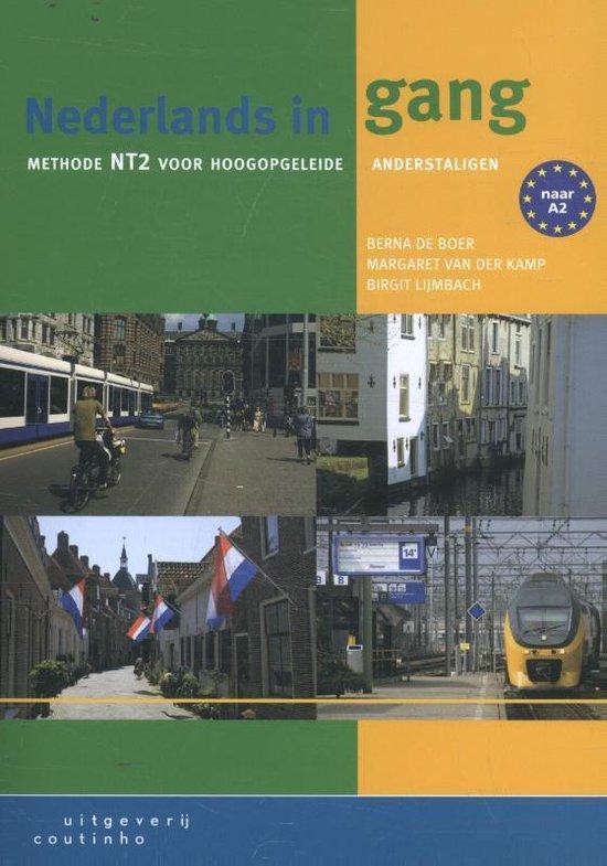 Boek cover Nederlands in gang van Berna de Boer (Paperback)