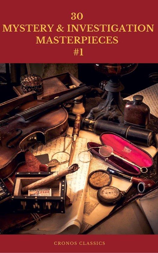 Omslag van 30 MYSTERY & INVESTIGATION MASTERPIECES #1 (Cronos Classics)