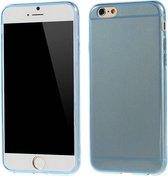 TPU Softcase 0.6mm iPhone 6(s) - Blauw