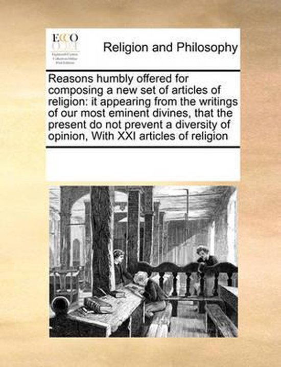 Reasons Humbly Offered for Composing a New Set of Articles of Religion