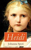 Heidi - Vollständige illustrierte Ausgabe: Buch 1&2
