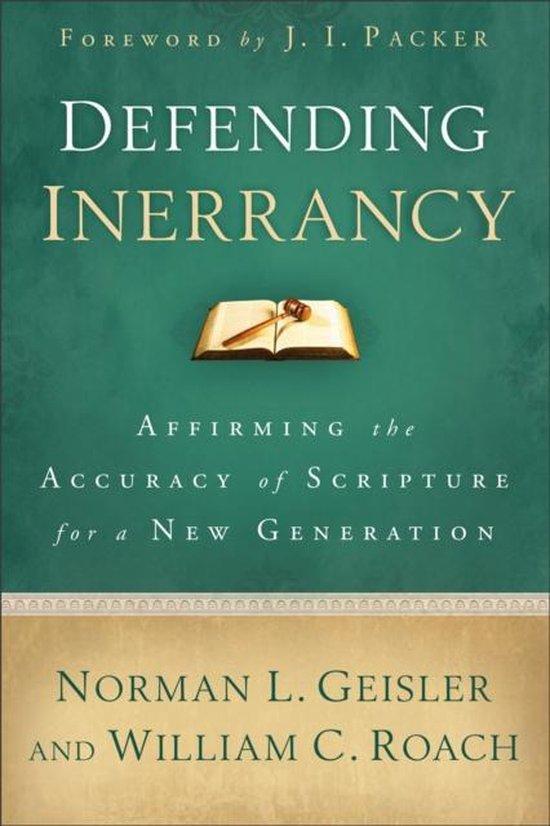 Boek cover Defending Inerrancy van Norman L. Geisler (Paperback)