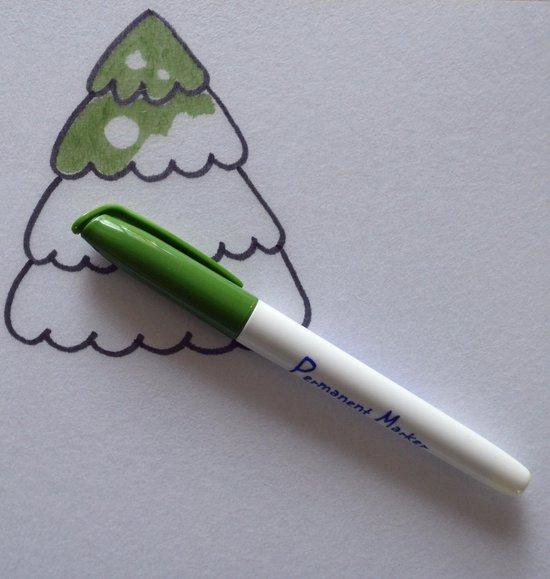 Knutselpakket krimpie dinkie krimpfolie kerstboomhangers met voorbeelden - Merkloos