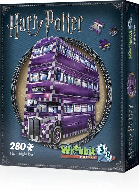 Wrebbit 3D Puzzle - Harry Potter The Knight Bus (280)
