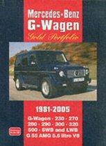 Mercedes-Benz G-Wagen Gold Portfolio 1981 - 2005