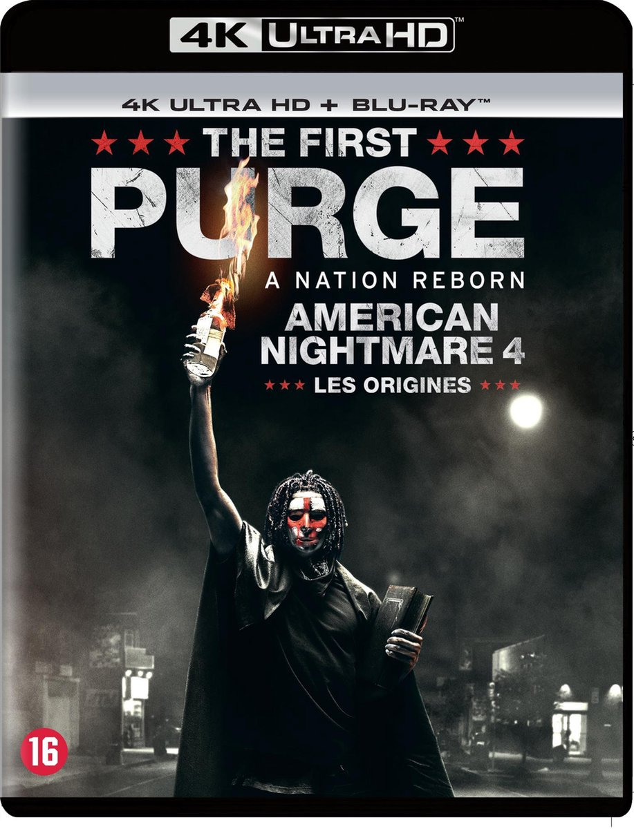 The First Purge (4K Ultra HD Blu-ray)-