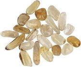Citrien trommelstenen (10 gram - 4-5 stuks)