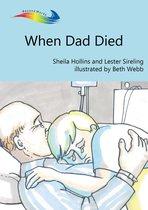 Omslag When Dad Died
