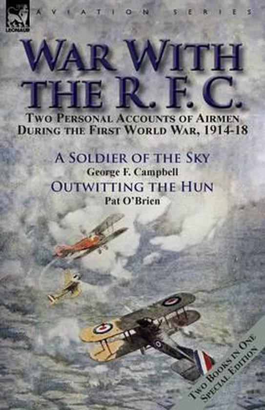 Omslag van War With the R. F. C.