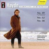 Haydn: Symphonies 49. 52 .58