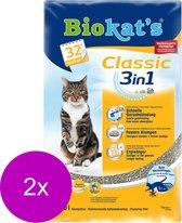 Biokat's Classic 3 In 1 - Kattenbakvulling - 2 x 10 l
