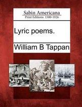 Lyric Poems.