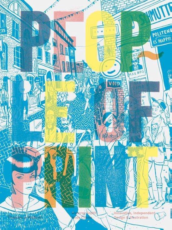 Boek cover People of Print van Marcroy Smith (Hardcover)
