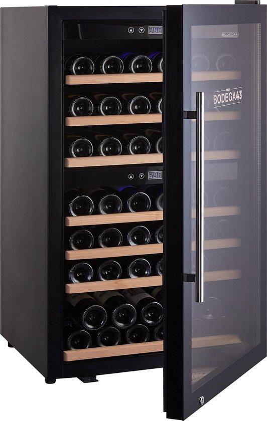 Koelkast: BODEGA43 - Wijnkoelkast - 66 flessen, van het merk BODEGA43
