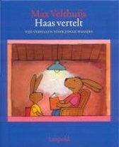 Boek cover Haas Vertelt van Max Velthuijs
