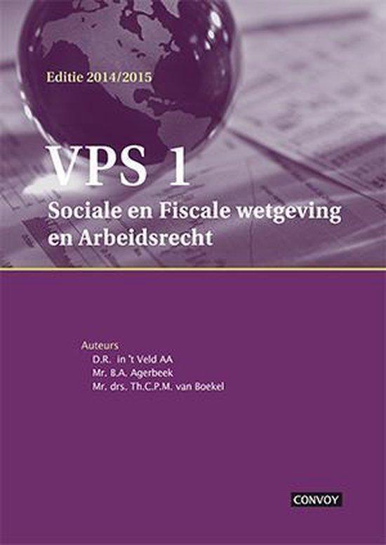 VPS1 2014/2015 Theorieboek - D.R. in 't Veld |