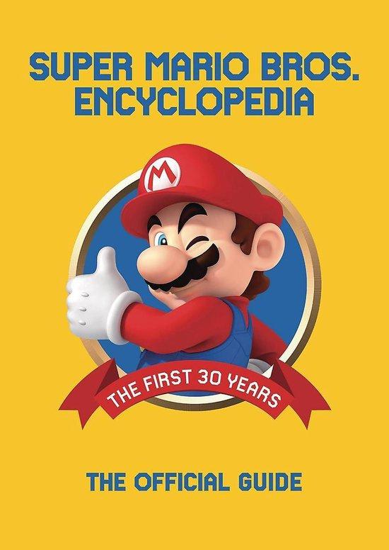 Boek cover Super Mario Encyclopedia van Merkloos (Hardcover)