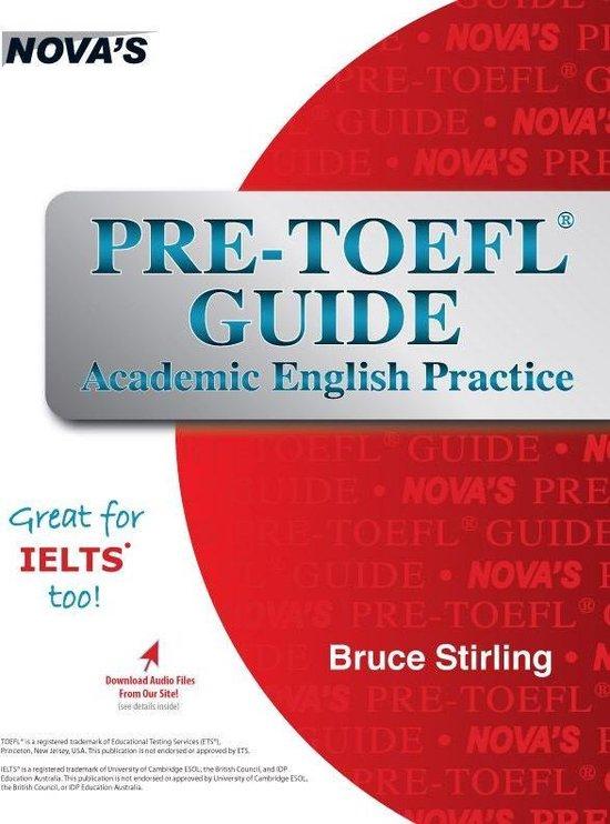 Boek cover Pre-TOEFL Guide van Bruce Stirling (Onbekend)