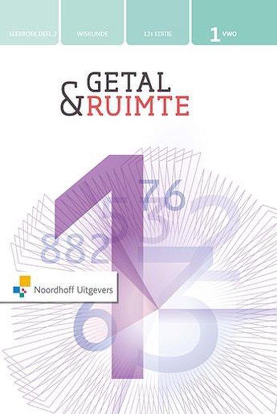 Getal & Ruimte 12e ed vwo 1 leerboek deel 2 - none   Fthsonline.com