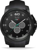 Tutti Milano TM501NO-NO- Horloge -  48 mm - Zwart - Collectie Masso