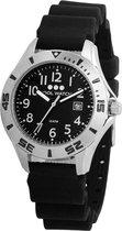 Coolwatch Diver CW.207 - Horloge - Kunststof - 32 mm - Zwart
