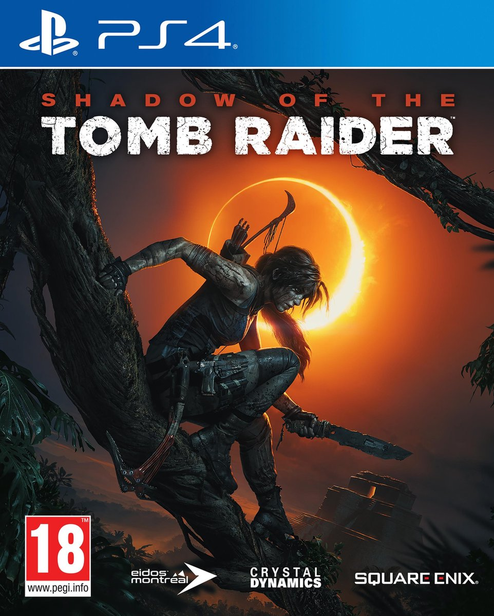 Shadow of the Tomb Raider - PS4 - Square Enix