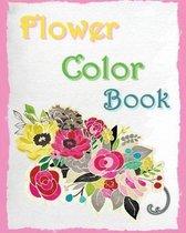 Flower Color Book