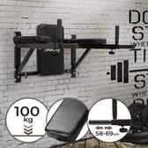 Dipstation - uittrekbare handgrepen - max. 100 kg belastbaar