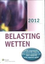Belastingwetten / 2012