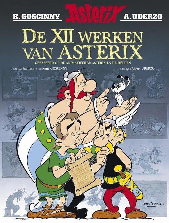 Boek cover Asterix verhalen 02. de twaalf werken van asterix van Albert Uderzo (Paperback)