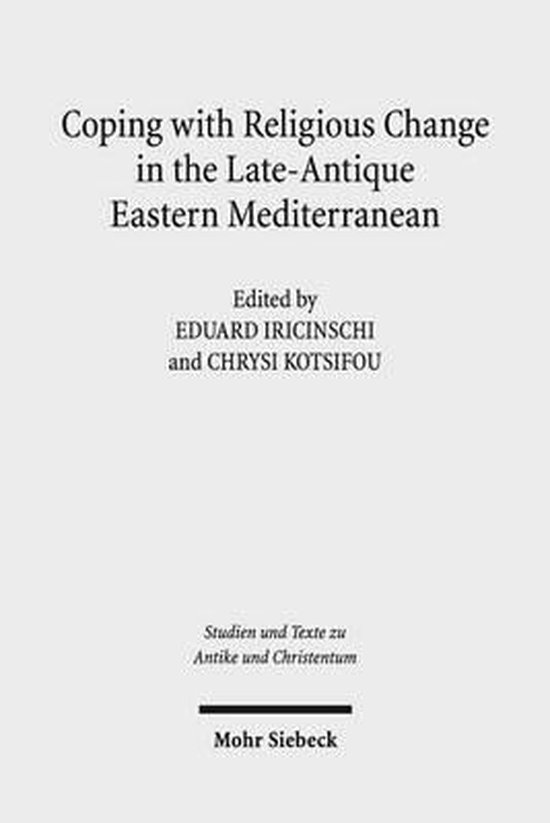 Boek cover Coping with Religious Change in the Late-Antique Eastern Mediterranean van  (Paperback)