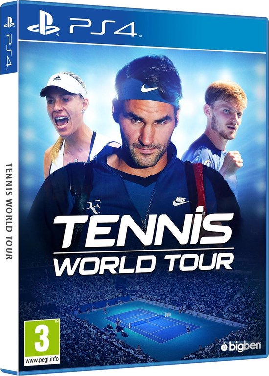 Tennis World Tour - PS4 - Bigben