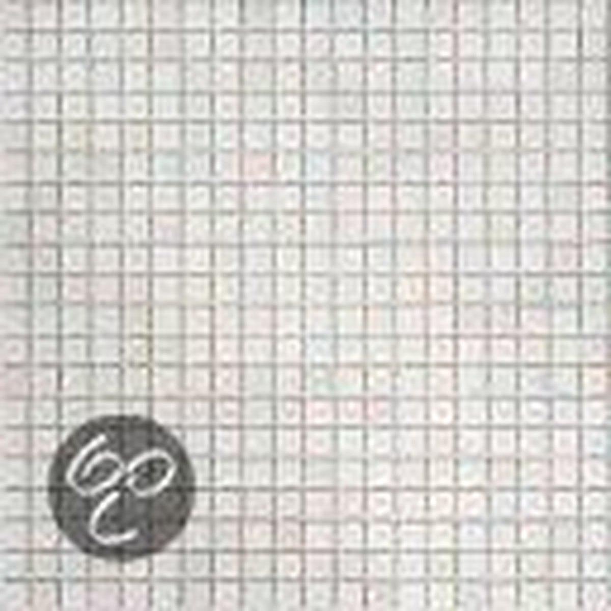 Alfa Mosaico Mozaiek Sabroso wit parelmoer glans effect 1,5x1,5x0,4 cm -  Wit Prijs per 1 matje. - Alfa Mosaico