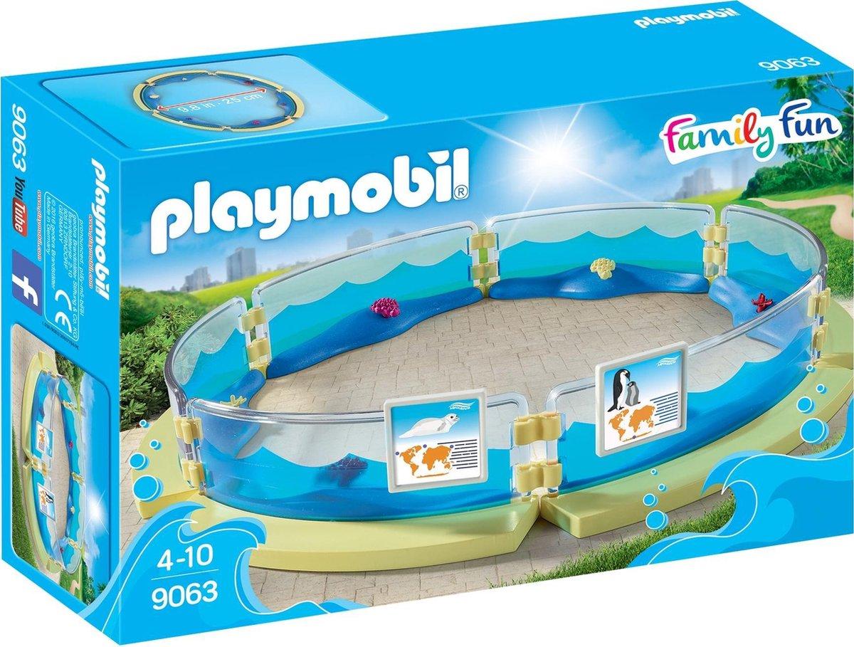 PLAYMOBIL Family Fun Bassin Voor Zeedieren - 9063
