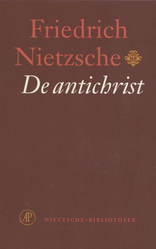 Boek cover Nietzsche-bibliotheek - De antichrist van Friedrich Nietzsche (Paperback)