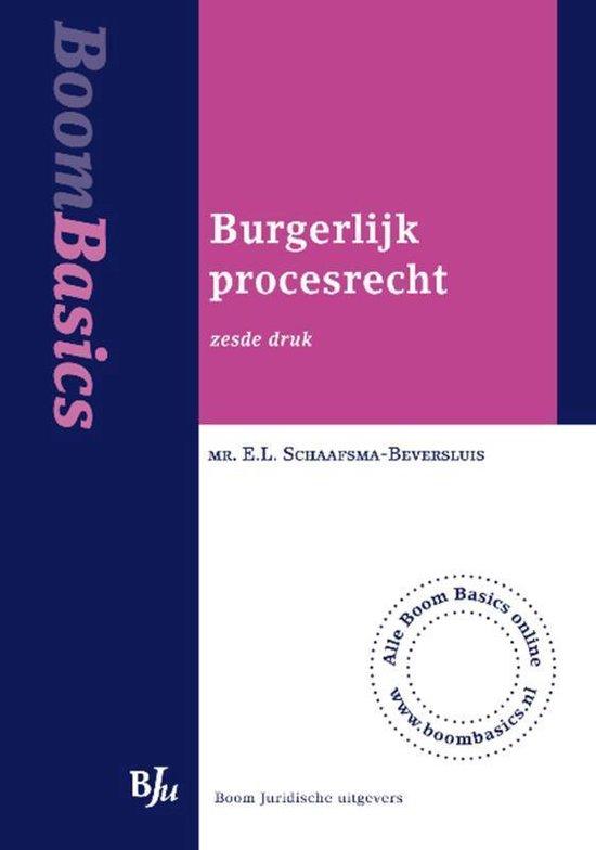 Burgerlijk procesrecht - E.L. Schaafsma-Beversluis |